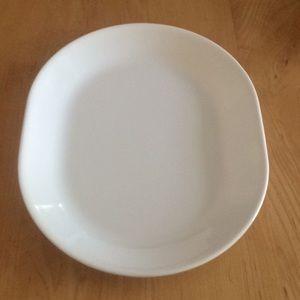 Vintage  Correlle White Platter.